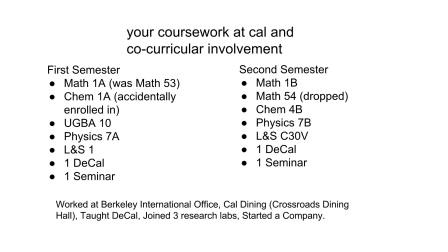 Academic Success & Culture at Berkeley