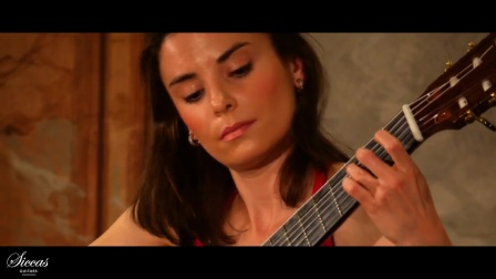 Ana Vidovic plays from the Cello Suite No. 1 in G Major BWV 1007 Menuet I + II