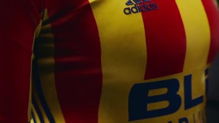 巴伦西亚2017-18赛季客场球衣