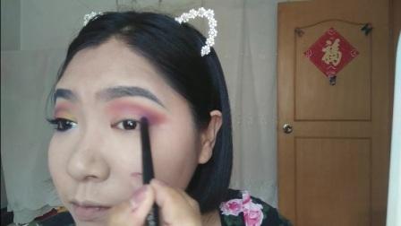 妆容-加州落日
