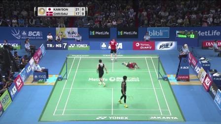 2017印尼羽毛球公开赛16强最佳球