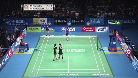 2017印尼羽毛球公开赛半决赛集