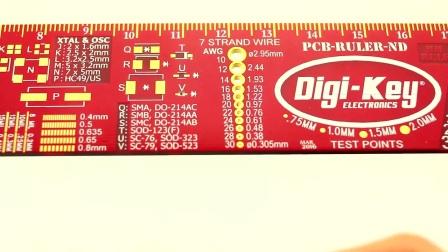 Digi-Key PCB 尺 演示