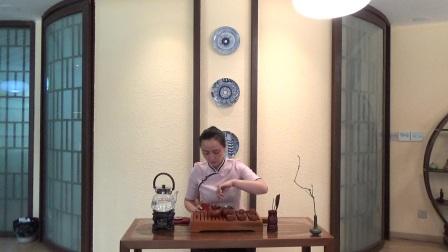 天晟茶艺培训第131期4号台湾十八道茶艺表演.