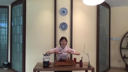 天晟茶艺培训第131期3号台湾十八道茶艺表演.