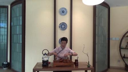 天晟茶艺培训第131期6号台湾十八道茶艺表演.