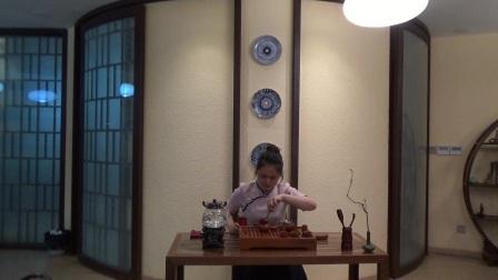 天晟茶艺培训第131期8号台湾十八道茶艺表演.