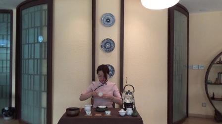 天晟茶艺培训学校第131期1号茶修之行茶十式茶艺表演