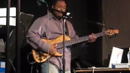 Terrance Palmer at xhedo's cafe video 2