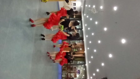 杭州萧山区新世纪音乐学校 吴老师学生的拉丁舞