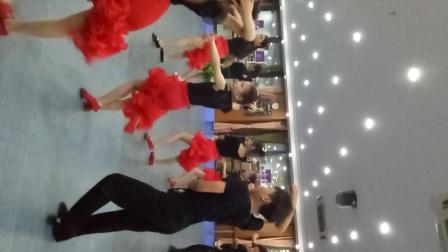 杭州萧山新世纪音乐学校新 老师现场教学拉丁舞