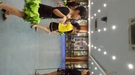 杭州新世纪音乐学校 吴玛琍老师教学拉丁舞