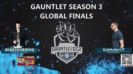 6月25日Gauntlet第三赛季总决赛(1) Time(T) vs PtitDrago(P)