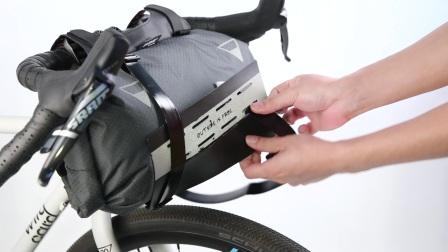 WOHO Xtouring 輕量單車露營包 龍頭包 安裝示範