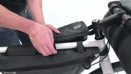 WOHO Xtouring 輕量單車露營包 上管包 安裝示範