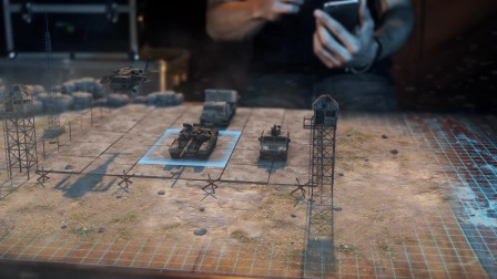 战争游戏 - 3D 视频实验