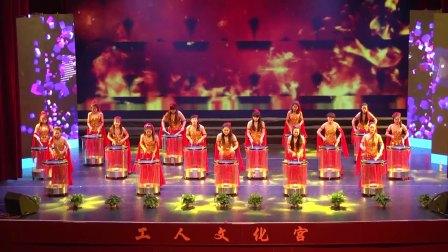 中兴幼儿园综艺舞台舞蹈《鼓动中国》