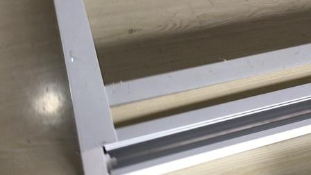 阳光房遮阳顶帘电动蜂巢帘安装视频