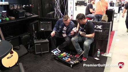 2017夏季NAMM Show 《Premier Guitar》 NUX乐器专访