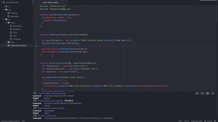 AE脚本工具代码编写制作高级教程AFX303-class04