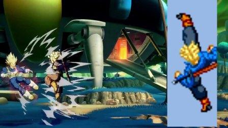 【游民星空】《龙珠斗士Z》特兰克斯和漫画对比