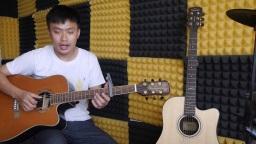 吉他教学弹唱《睡在我上铺的兄弟》老狼 C调六线谱 示范+讲解