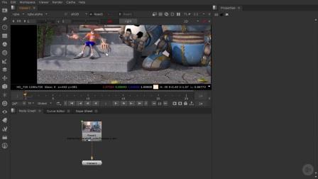 NUKE-3D立体电影教程05探讨渲染场景