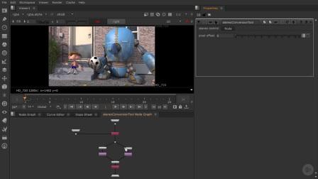 NUKE-3D立体电影教程11建立一个立体转换工具(Part 2)