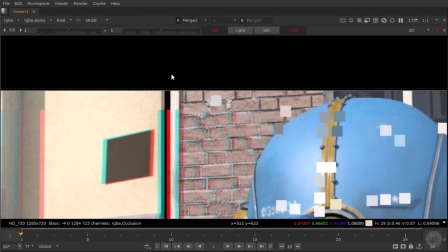 NUKE-3D立体电影教程14从立体动画场景中移除一个项目