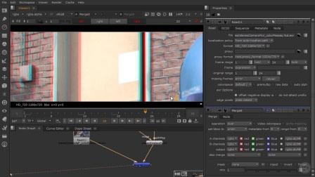 NUKE-3D立体电影教程15使用所提供的深度贴图做立体转换