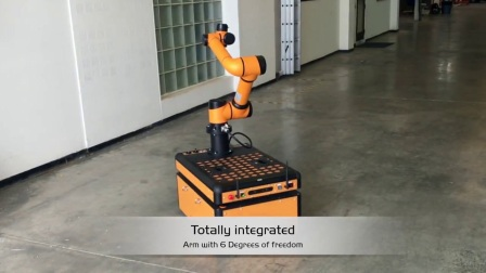 JR2智能移动抓取机器人
