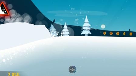 深渊鸣雪的休闲时间(1)《滑雪大冒险》:大脚雪怪我最爱