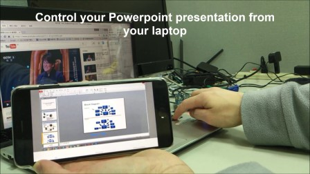 AL582 AV Sender Receiver Laptop iPhone