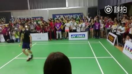 李宗伟羽毛球学院今日开张,拿督威拉现场教学