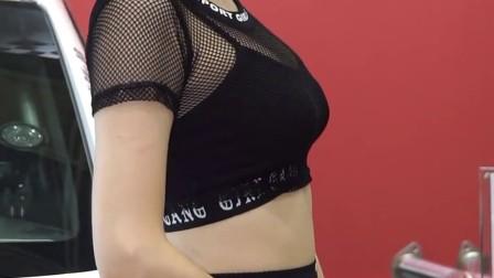 170713-16 2017 首尔汽车沙龙 韩国美女模特 车模 신
