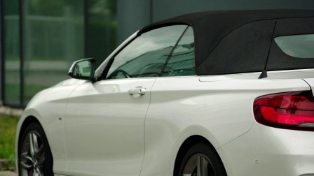 2018 BMW 220d Convertible M Sport Package外观展示