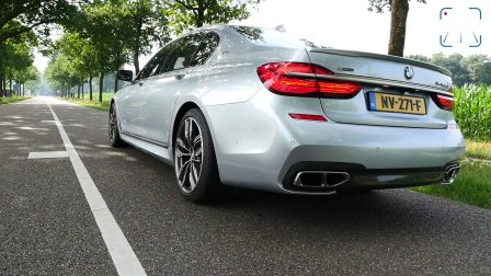 BMW M760Li xDrive 6.6 V12 BiTurbo声浪