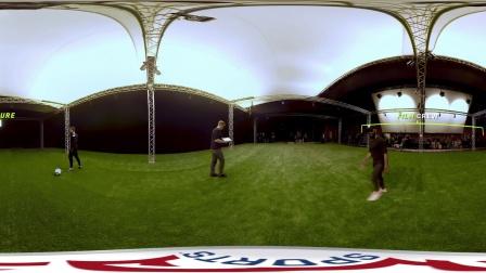 非凡网 - FIFA 18 C罗Heel Chop动作采集幕后花絮 - 全景
