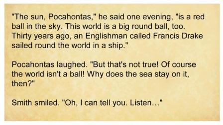 【英语每日一读】-Pocahontas