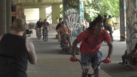 BMX IN THE STREETS OF PHILADELPHIA – THE STREET SERIES 2017