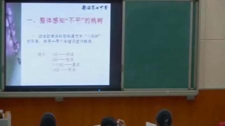 人教版初中语文七下《一棵小桃树》天津-张婷婷