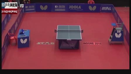 乒乓球总决赛女子双打视频