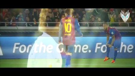 【滚球世界足球频道】梅西与内马尔见的第一面