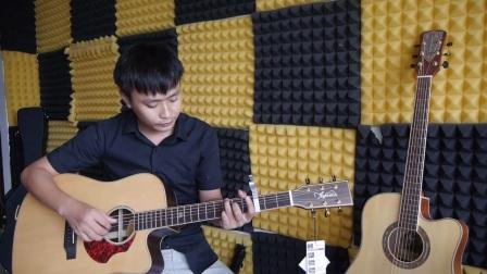 《回到过去》吉他弹唱教学 示范讲解