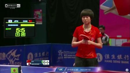 刘炜珊-中国香港青少年公开赛决赛