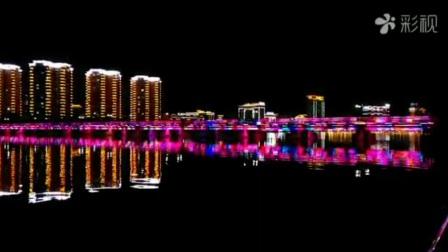美麗的延吉夜景