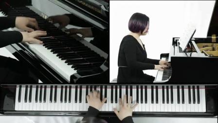 如何弹钢琴 双手初学者入门钢琴基本指法