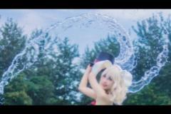 战舰少女普林斯顿泳装cosplay写真