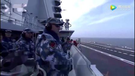 我国国产航母组装视频 中国军事力量受到外媒赞叹