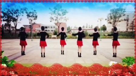 江苏南通美好广场舞《往事只能回味》 》